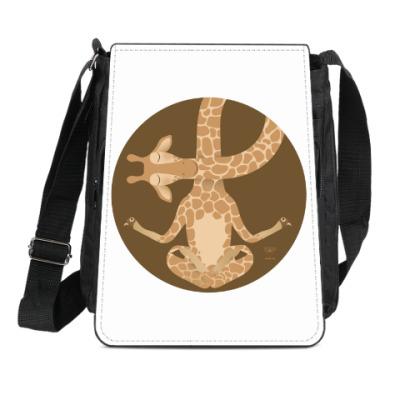 Сумка-планшет Animal Zen: G is for Giraffe