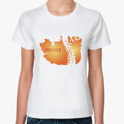 Классическая футболка HOUSE bone