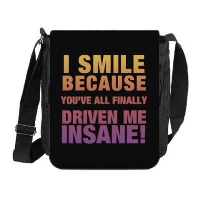 Сумка на плечо (мини-планшет) 'Insane'