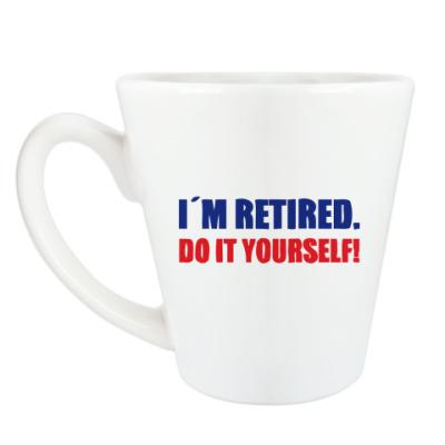 Чашка Латте I'm retired