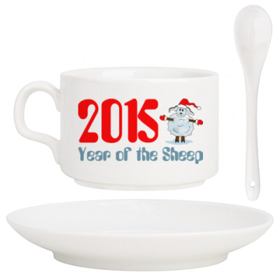 Кофейный набор Year of the Sheep