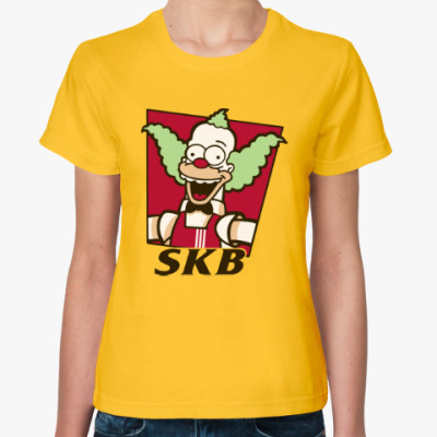 Женская футболка Krusty Burger